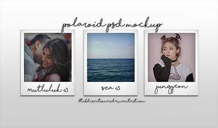 .polaroid psd mockup