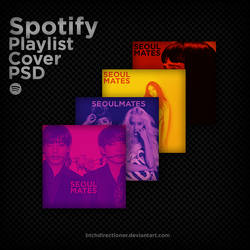 Spotify Playlist Art Concept PSD Template by btchdirectioner
