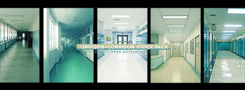 +Corridor Stock Pack by btchdirectioner