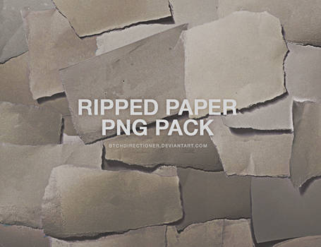 ripped paper stock png pack | for 5k watchers