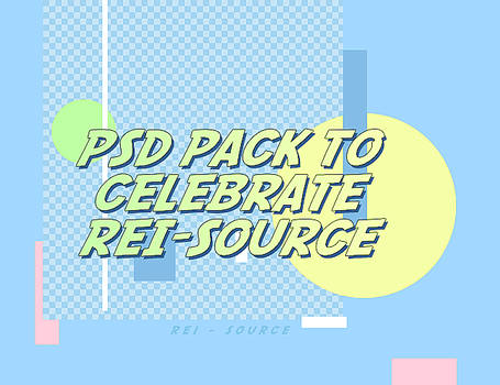 psd pack to celebrate rei-source