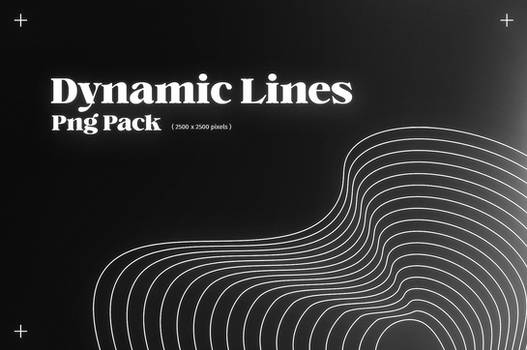 dynamic lines png pack