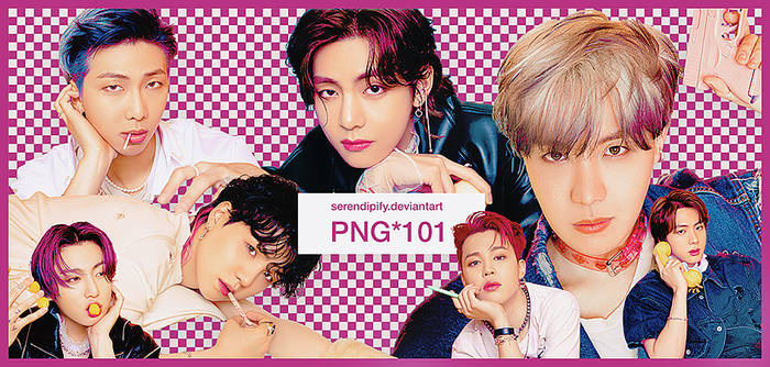 PNG PACK 101: BTS ( Butter )
