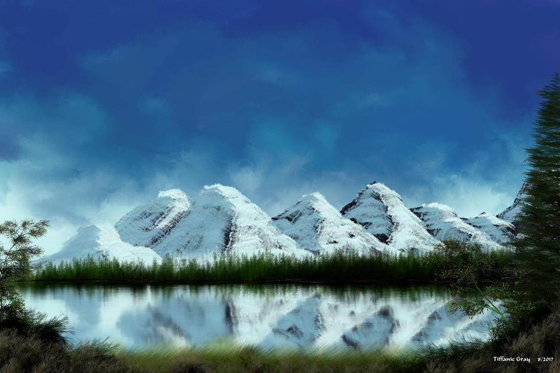 Mountain Vista by Dakorillon