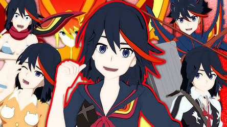 (MMD Model) Ryuko Matoi Download!