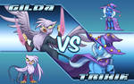 Mega Trixie X VS Shadow Gilda [Animated]