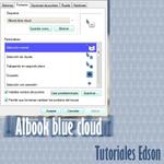 Albook blue cloud