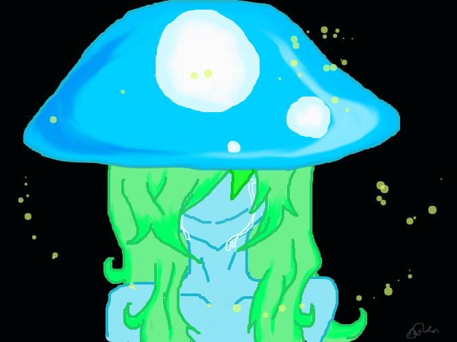 Ms. Mushroom by WolfJinx007