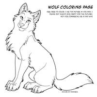 Color Page Wolf