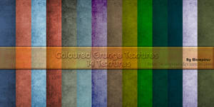 Coloured Grunge Textures