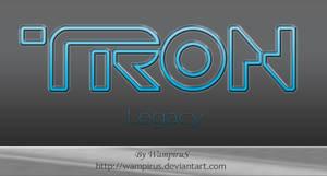 Tron Legacy Text Effect