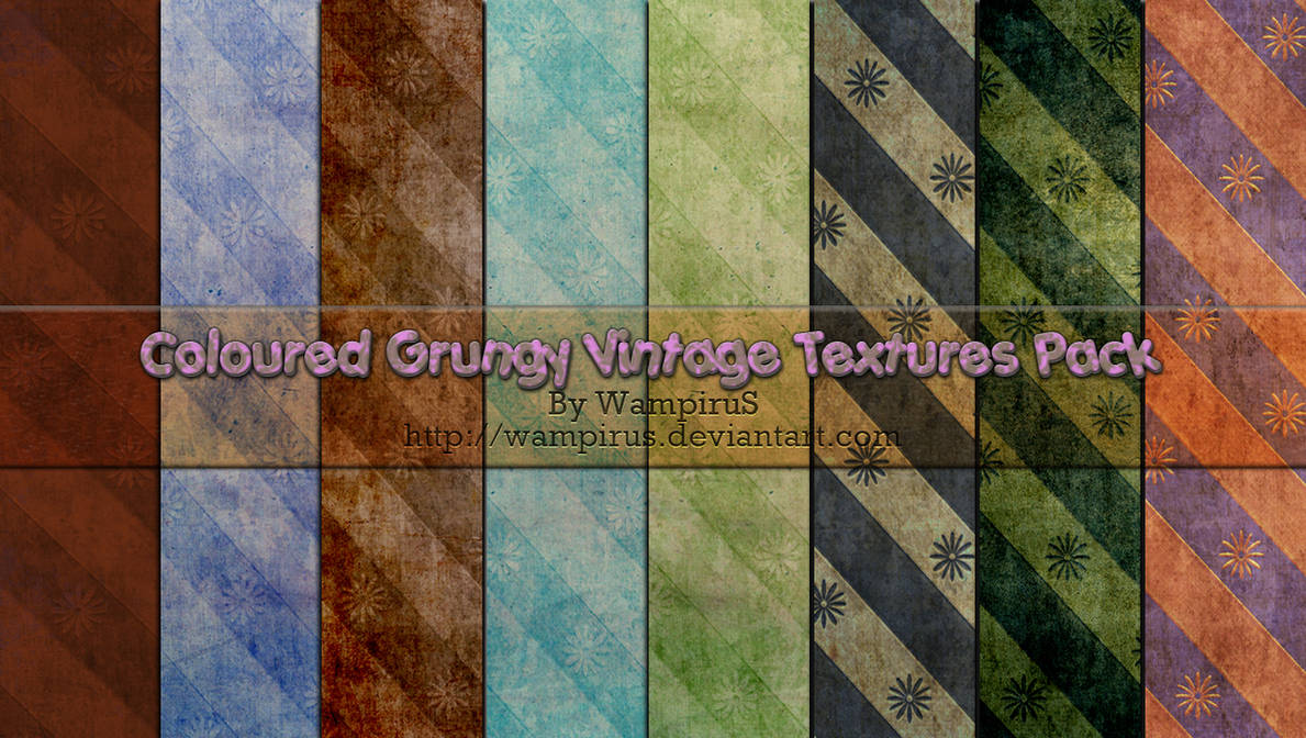 Grungy Vintage Textures Pack by WampiruS