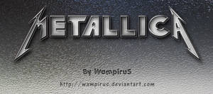 Cool Metallica Text Effect