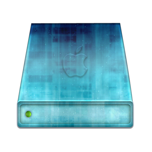 Hard Drive Icon Mac Mac Blue Hard Disk Icon by