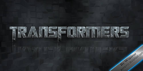Transformers Text Effect by WampiruS