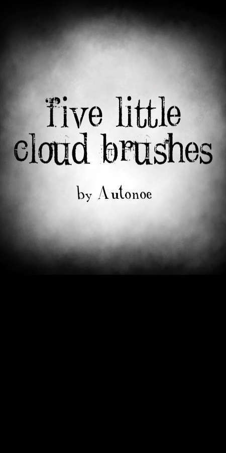5 Little Cloud Brushes
