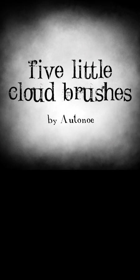 5 Little Cloud Brushes by Autonoe