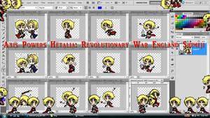 Hetalia Shimeji: Revolutionary War England