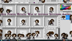 Hetalia Shimeji:War of Austrian Succession Austria