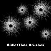 Gimp Bullet Hole Brush 1 by cheeseofdoom