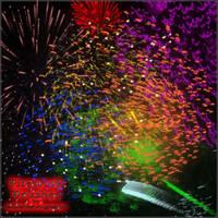 Firework Brushes Image Pack by JadeIshTehRingLeader
