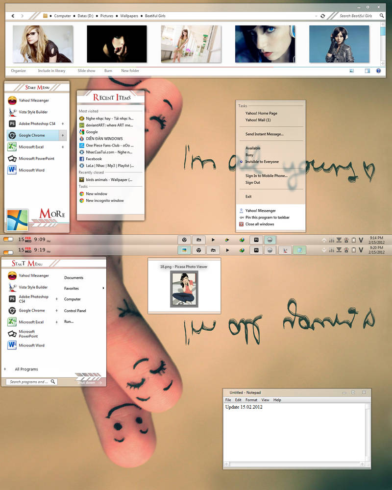 Memolotrys for Windows 7