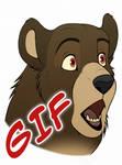 Surprised Bear [Animation]