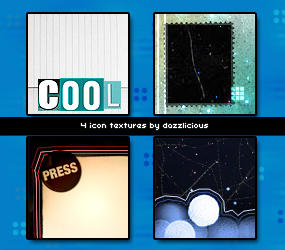 Icon textures 001 by dazzlicious