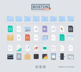Boston Icons by diazchris