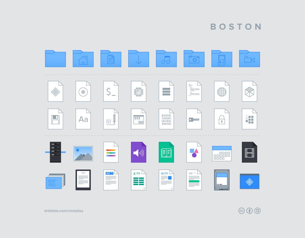 Boston Icons
