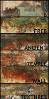 Grunge temple wall textures