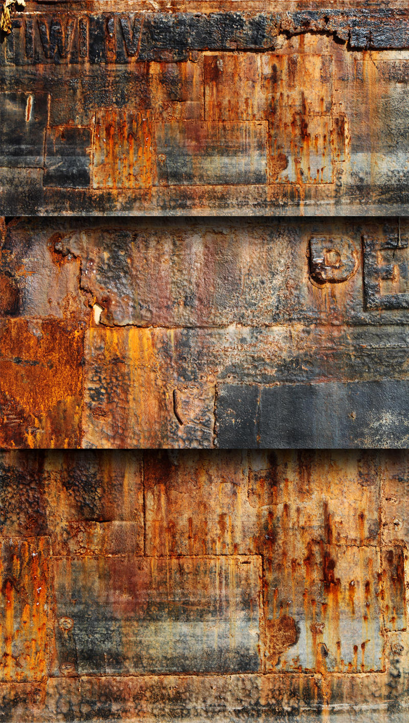 3 free rust textures by kropped on deviantart for What wall colors mean