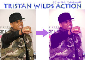 Tristan Wilds Action (Photoshop CS6)