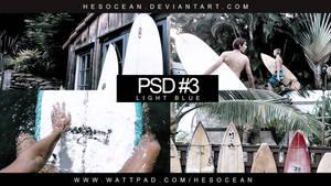 PSD # 3 - LIGHT BLUE