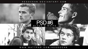 PSD #6 - BLACK AND WHITE