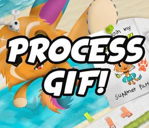 Summer Plushie Gnar (Process GIF)