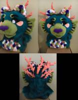 Urchin Head (part 2) by SoulBoundFursuits