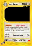 ecard Pokemon Font Guide by lucasthesaltydm