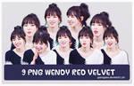 [PACK PNG #5] WENDY RED VELVET