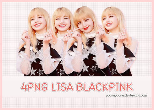 [PACK PNG #6] LISA BLACKPINK