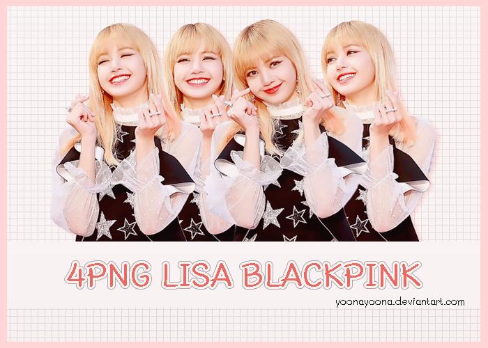 Pack Png 6 Lisa Blackpink By Yoonayoona On Deviantart