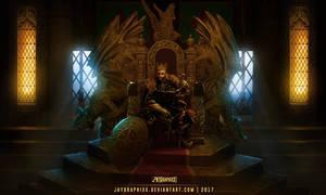 Royal Dynasty: King's throne - Process gif by JayGraphixx