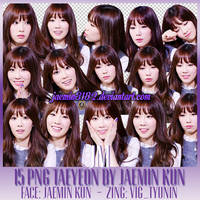 TaeYeon - 15 PNG By JaeMin (STOP SHARE) by JaeMin3182