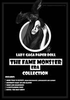 Lady Gaga Paper Doll: The Fame Monster Era by DibuMadHatter