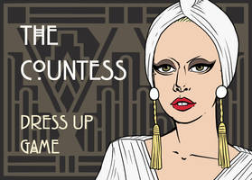 Dress-Up Game: Lady Gaga as The Countess by DibuMadHatter