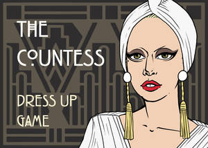 Dress-Up Game: Lady Gaga as The Countess