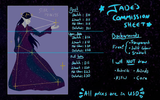 Commissions are now open!