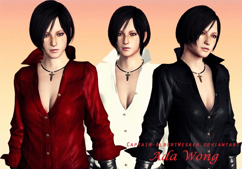 Ada RE6 No Gear Models by Captain-AlbertWesker