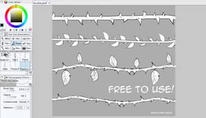 Manga Studio/Clip Studio: Vine Brush