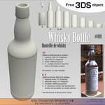 Free 3DS : 001-whisky-bottle
